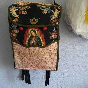 Lady of Guadalupe, Virgin Mary With Roses Bag